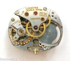 Movimiento reloj LONGINES 14.16  17 jewels incompleto para piezas de recambio