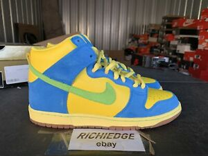DS Nike Dunk High Pro SB Marge Simpson Size 10.5 100% Authentic