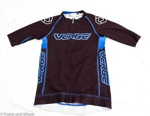 Verge Sport TOR+FL Short Sleeve Cycling Jersey Men Black Blue