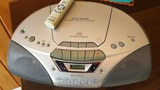 Sony CFD-5250 Boombox CD/Cassette/Radio/Recorder-remote Tested