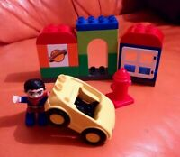 LEGO DUPLO SET 10543 SUPERMAN RESCUE SET COMPLETE LOVELY CONDITION DC RARE