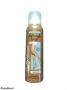 Sally Hansen Airbrush Legs Tan Glow  4.4 Oz, Water Resistant New & Sealed!