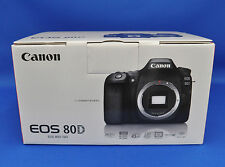 Canon EOS 80D Full HD Digital Camera Body 24.2MP Japanese Domestic Version New