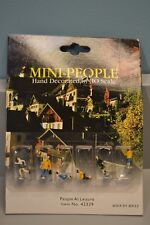 Bachmann Mini-People #42339 HO Scale People at Leisure Figures - NEW