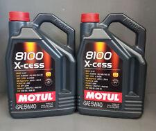 Motul 8100 X-cess 5L 5W-40 Lubricante Sintetico - Nero (102870)