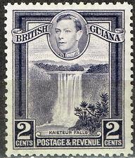 British Guiana Famous Kaeteur Falls stamp 1945 MLH