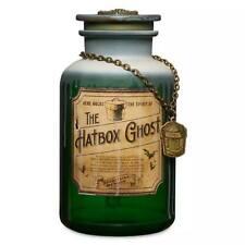 DISNEY The Hatbox Ghost Host A Ghost Spirit Jar–The Haunted Mansion-Lights,Sound