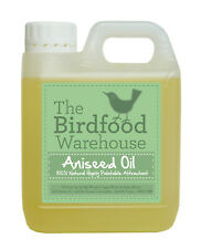 More details for aniseed oil for birds 1ltr-20ltr wild bird, caged birds, game birds,high attract