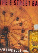 Bruce Springsteen & the E Street Band Summer Tour 2003 Program + bonus