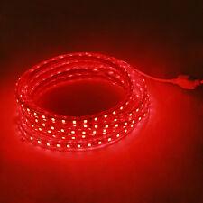 EU Plug 1M Red 60LED SMD 5050 LED Remote Control Home Decor String Light Strip