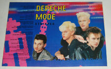 DEPECHE MODE - STRIPPED - Songwords CLIPPING! - 15 X 21.5CM
