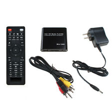 AGPTEK Mini 1080P Full HD Digital Multi Media Player YPbPr SDHC MKV RM RMVB