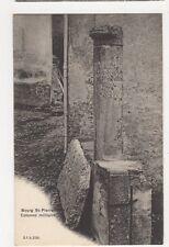 France, Borg St. Pierre, Colonne Milliaire Postcard, B356