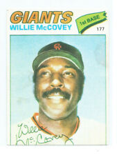 1977  Topps Venezuelan Sticker WILLIE MCCOVEY # 177  BEST QUALITY  AVAILABLE !
