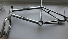Raleigh Mini chrome burner Bmx frame&forks 80s Old School mongoose haro redline