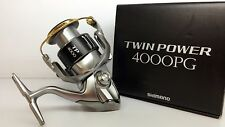 SHIMANO TWIN POWER 4000PG Spinning Reel 4000 PG FREE FEDEX PRIORITY 2DAYS TO USA