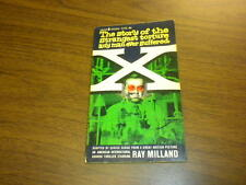 X - THE MAN WITH THE X-RAY EYES - Eunice Sudak PAPERBACK sf 1963 RAY MILLAND