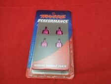 Traxxas Stampede Rustler Slash 4 PINK ANODIZED ALUMINUM Shock Caps 3767P ultra