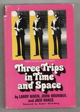 Three Trips in Time and Space by Larry Niven, John Brunner & Jack Vance (1st Ed)