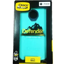 OtterBox Defender Case for Moto Z2 Force Edition Borealis Teal Mint Authentic