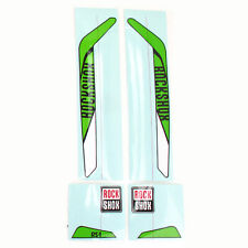 RockShox RS-1 XX Replacement Decal Set // Green/White