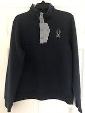 Spyder Men's Quilted Pullover Fleece Sweater Sz LRG NWT 71D64052-42 MSPR $149.00