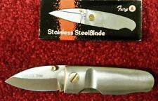 Explorer 11-322 Stubby Pocket Knife Old Reproduction Model 50001 By Fury Knives
