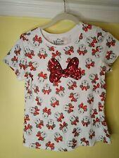 Disney Girls Minnie Mouse Tshirt Xxl (18) Jan/2019
