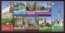 NOUVELLE-ZÉLANDE 2002 ARCHITECTURAL HÉRITAGE NON MONTÉS EXCELLENT ÉTAT EN BLOC