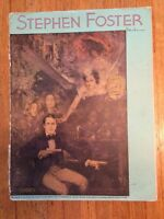 Vintage 1942 Stephen Foster Song Book-with Portrait-Illustrated-SHIPS FREE
