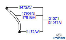 Genuine Hyundai Terracan Hose Air Pressure  - 31071H1950