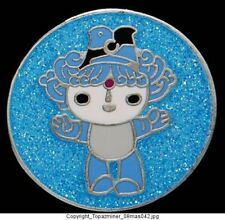 OLYMPIC PIN BEIJING 2008 MASCOT BEIBEI BLUE SHINY MEDAL