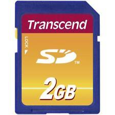 Transcend SD carte 2 Go Carte mémoire 2 Go TS 2 GSDC