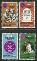 Album Treasures Kenya Uganda Tanganyika Scott # 263-266 Boy Scout Conference MNH