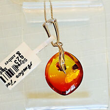 Amber Necklace Baltic Genuine Russian Vintage Butterscotch Egg Yolk Polish 老琥珀