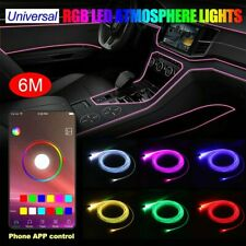 Auto PKW LED Ambientebeleuchtung Innenraumbeleuchtung Lichtleiste App Control