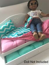 American Girl Dolls Dreamy Day Bed, Trundle, Retired 2011, Great Condition