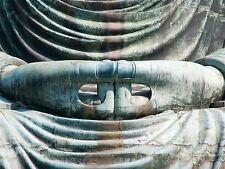DT MEDITATION HANDS STATUE BUDDHA ART POSTER PRINT BMP10812