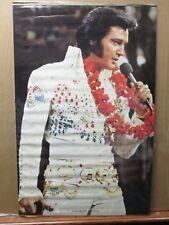 Vintage Poster ELVIS 1975 king of rock n roll Inv#G2609