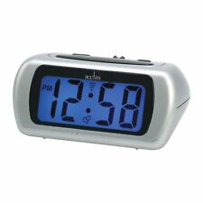 ACCTIM AURIC 12340 DIGITAL BATTERY ALARM CLOCK WITH BLUE BACKLIGHT LCD & SNOOZE
