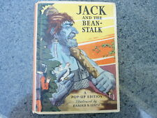 (Pop-Up) Jack and the Bean-Stalk Illustrated by Harold B. Lentz.  1st ed. 1933