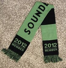 Seattle Sounders FC Scarf 2012 Season Ticket Member Striped