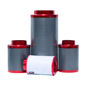 Red Scorpion Carbon Air Filter 10 Inch 250x600mm Hydroponics Odour Control Rhino