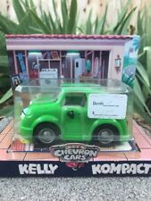 Chevron Cars 1998 Kelly Kompact Collectible Toy Car New 1998 Original Box