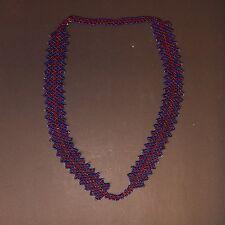 BellyDance ATS Costume Beaded NECKLACE Kuchi Tribal 805x5
