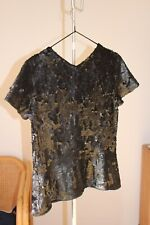 894ea460a284c Theyskens Theory sequin blouse Size 2