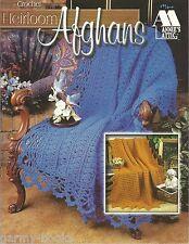 Heirloom Afghans Crochet Instruction Patterns 6 Designs Annie's Attic 879811 NEW