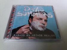 """DAVID SUMMERS """"BASADO EN HECHOS REALES"""" CD 12 TRACKS COMO NUEVO"""
