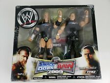 NEW WWE Smackdown vs RAW 2009 THQ Figure Set JAKKS Triple H Michaels - RARE