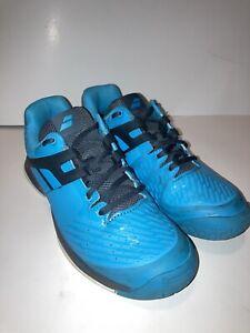 Youth Babolat Propulse AC Junior Athletic Shoes Blue/Grey Size 6 33S19478